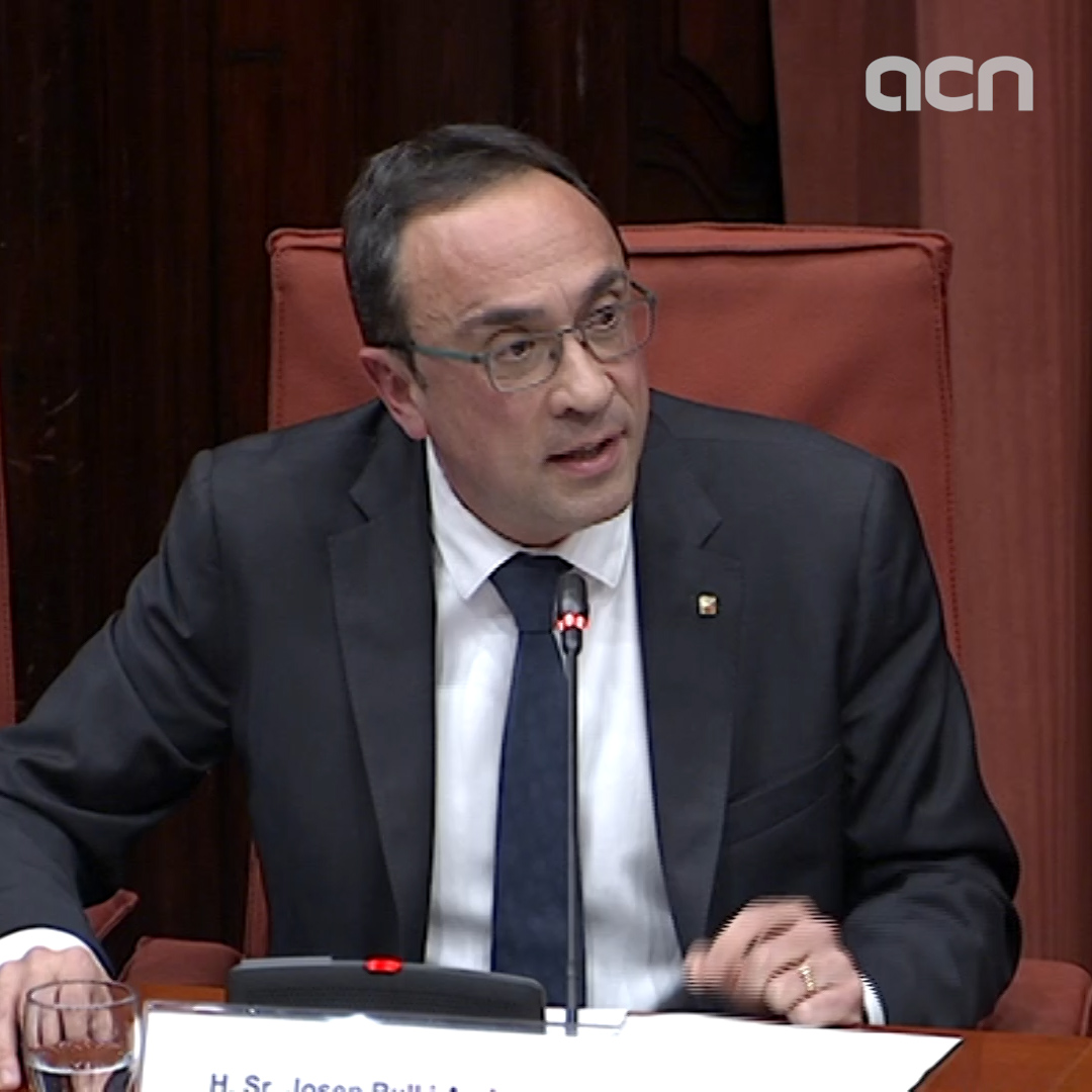 Josep Rull says under direct rule he continued to approve and supervise every decision