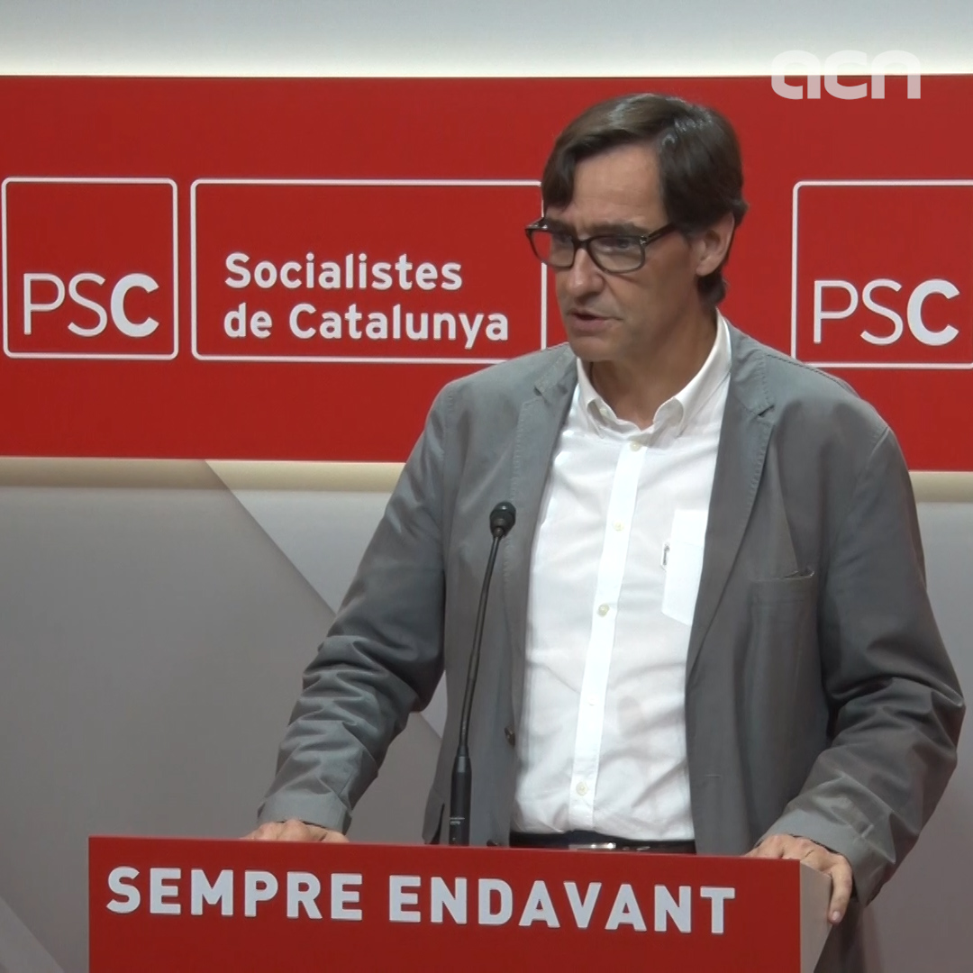"Socialists spokesperson calls on ERC and JxCat to fix their situation or else ""call on the voters"""