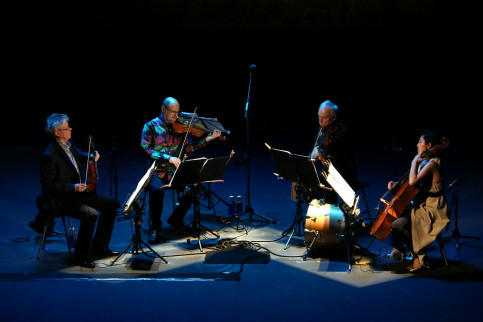 San Francisco's Kronos Quartet plays Festival Grec's opening concert on June 26, 2019 (Pere Francesch/ACN)