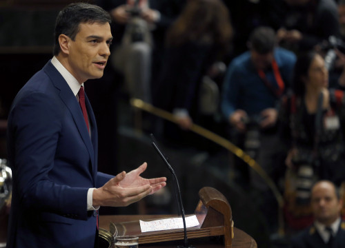 PSOE's leader, Pedro Sánchez is the candidate to form a new government in Spain (by ACN)