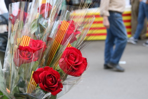 Sant Jordi is one of the most important Catalan festivals