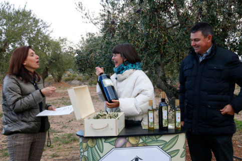Siruana olive oil makers present this season's new oil (by Núria Torres)