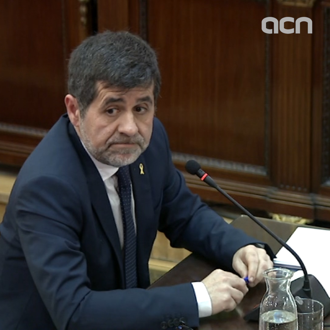 'We called on citizens to mobilize in defense of Catalan institutions,' says activist Jordi Sànchez