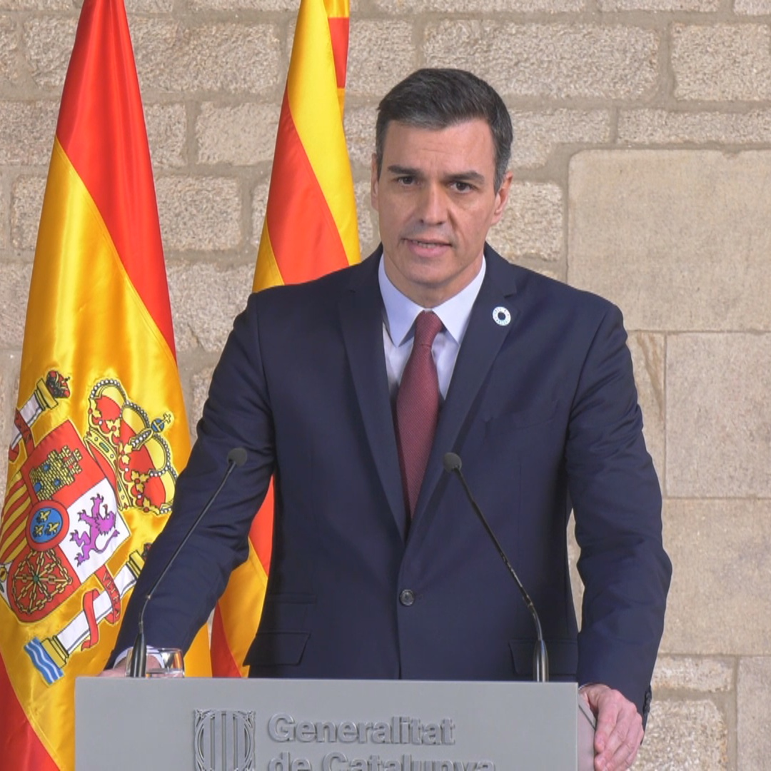 Pedro Sánchez: Dialogue is 'a path we have to take one step at a time'