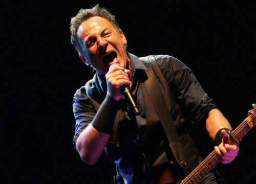 Bruce Springsteen during his last show in Barcelona, in 2012 (by ACN)