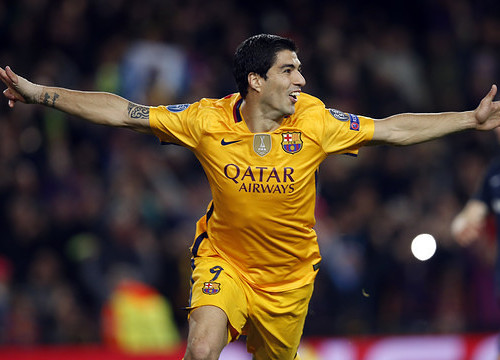Luis Suárez's two second-half goals led Barça to en electrifying comeback win on Tuesday night at Camp Nou (by FCB)