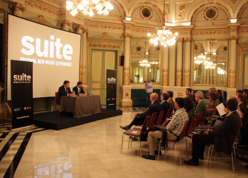 Presentation of Suite Festival before the media, at Barcelona Liceu Opera House (by ACN)