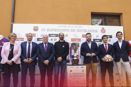 The Catalan Super Cup was launched in Sabadell last week