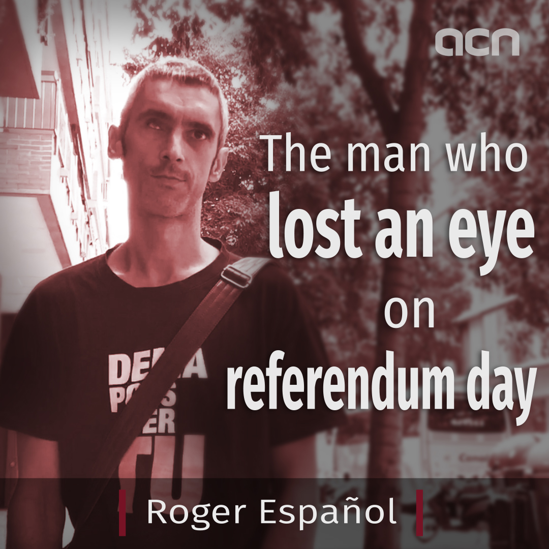 The man who lost an eye on referendum day
