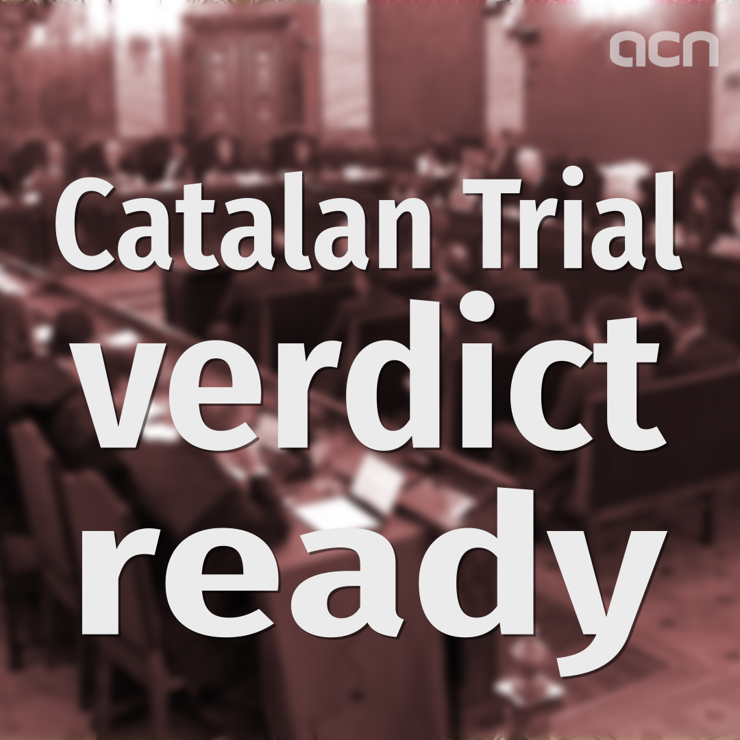 Catalan Trial verdict ready