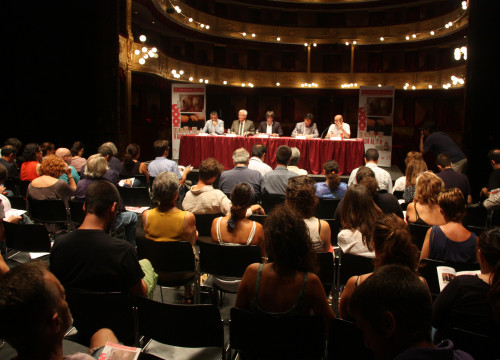 Presentation ceremony of Temporada Alta's programme, at Teatre Municipal de Girona (by ACN)