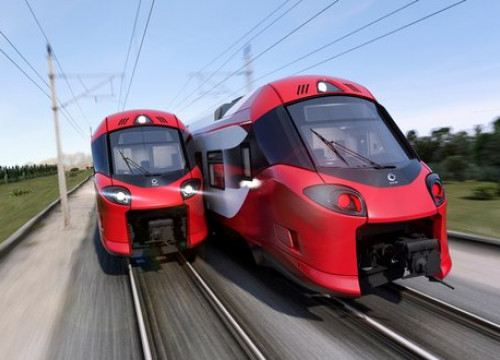 The Alstom trains to be sent to Luxembourg (photo courtest of Alston)