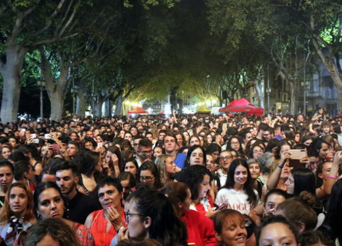 The audience at the Acùstica Festival in Figueres on August 31 2018 (by Gerard Vilà)