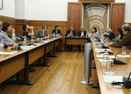 President Torra met Portuguese parliamentarians on Thursday