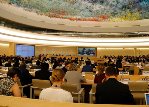 United Nations Human Rights Council plenary session on June 24, 2019 (by Natàlia Segura)