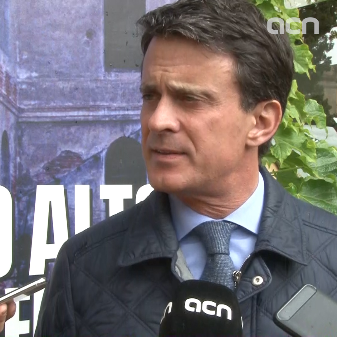 Barcelona mayoral candidate Valls defends Spanish constitution