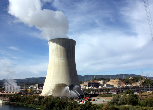 Image of a nuclear power station located in Ascó (by ACN)