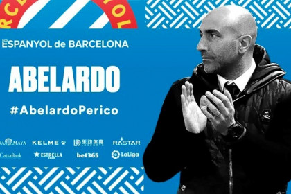 Abelardo Fernández has been named the new manager of RCD Espanyol (by Espanyol)