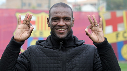 Barça player, Éric Abidal, declared fit to play after recovering from a liver transplant (by FC Barcelona)