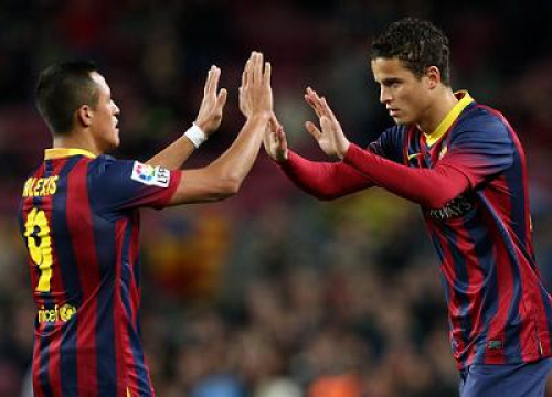 Ibrahim Afellay returned after 20 months out of the pitch due to an injury (by FC Barcelona)