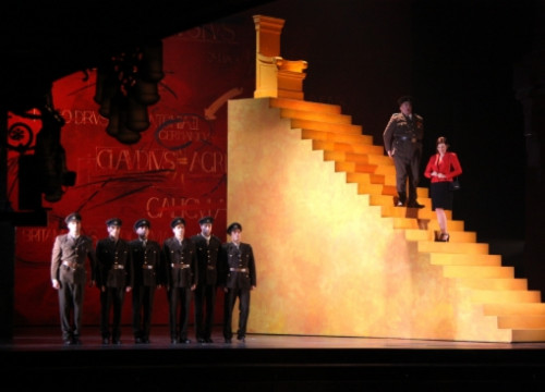 Liceu's performance of Händel's 'Agrippina' (by P. Francesch)