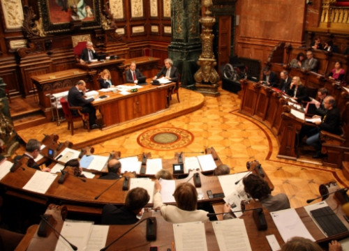 Barcelona's City Council debating investments for 2013 (by ACN)