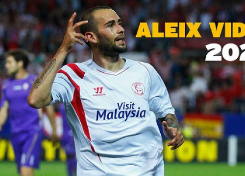 Aleix Vidal played for Sevilla this last season (by FC Barcelona)