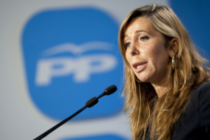 Alícia Sanchez-Camacho in Madrid on Wednesday in Madrid (by PP)