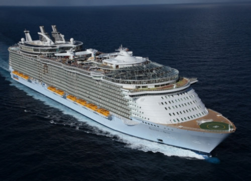 The Allure of the Seas (by Royal Caribbean)