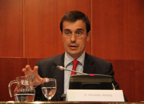Catalonia's new Permanent Representatives to the European Union, Amadeu Altafaj, a few months ago (by ACN)