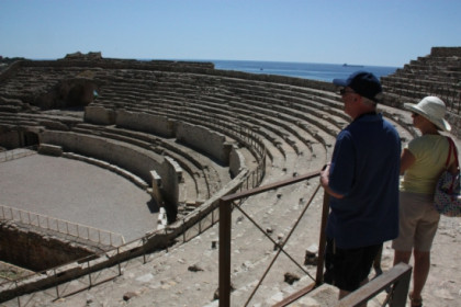 Tarragona's Roman amphitheatre, where some of the recreations take place (by N. Torres)