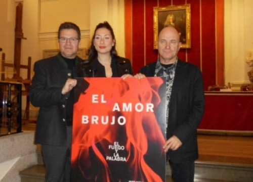 The presentation of La Fura dels Baus' project on Manuel de Falla's 'Amor Brujo' in Madrid a few days ago (by X. Vallbona)