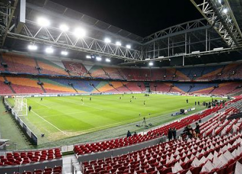 Amsterdam Arena on Monday evening (by FC Barcelona)