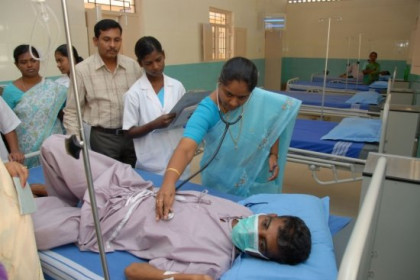 A patient is being explored in Anantapur District (by ACN)