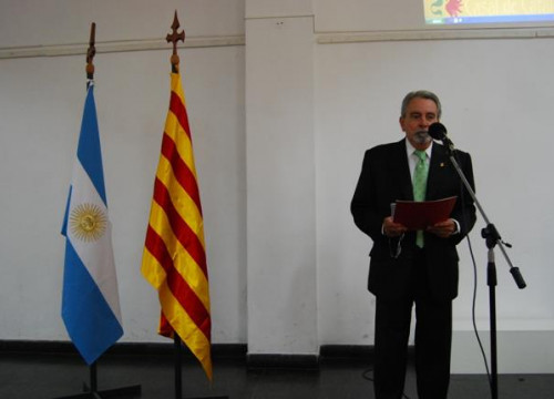 Jordi Font was the Catalan delegate in Argentina (by ACN/Facebook)