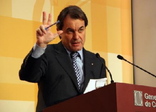 Catalan President, Artur Mas (by ACN)