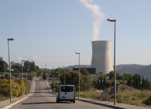 The nuclear plant of Ascó, in southern Catalonia (by ACN)