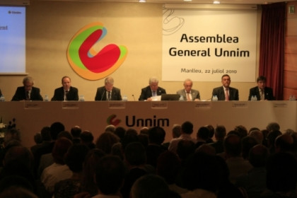 Unnim's last general assembly last July (by ACN)