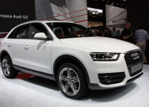 The world premiere of the Audi Q3 took place in the 2011 Barcelona International Motor Show (by A. Recolons)