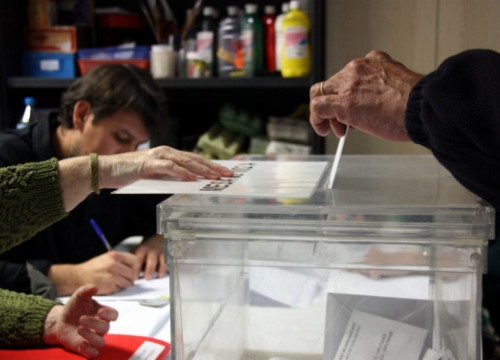 "54.7% of Catalans would vote ""yes"" and 22.1% would vote ""no"", while 15.7% would abstain (by ACN)"