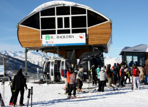 Baqueira will open this winter's season on November 26th (by M. Lluvich)