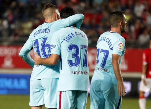 Barça opened the 2017-2018 Copa del Rey in impressive fashion Tuesday night with a 3-0 win at Murcia (by Miguel Ruiz)