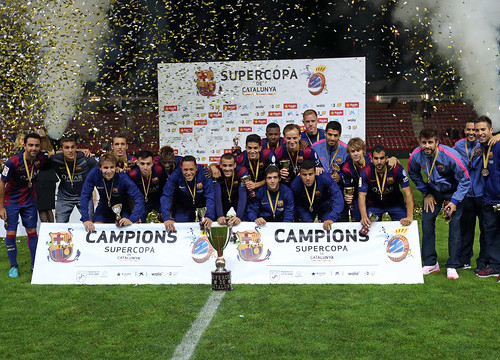 Barça won the first edition of Catalonia's Super Cup (by FC Barcelona)