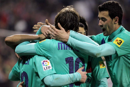 Barça won last weekend its 15th game in a row (by FC Barcelona)