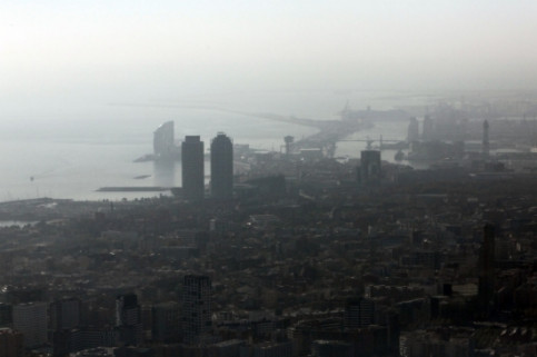 Air pollution in Barcelona (by ACN)