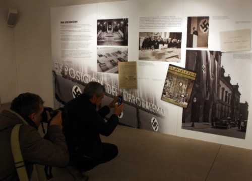 A picture from the 'Barcelona Postwar' exhibition at the Montjuïc Castle (by P. Francesch)