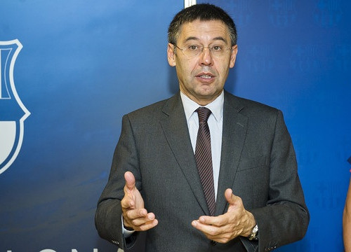 Barça's President, Josep Maria Bartomeu, in a recent picture (by FC Barcelona)