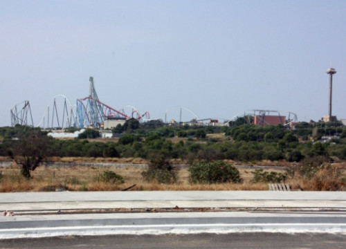 The land where 'BCN World' will be built next to the PortAventura theme park (by ACN)