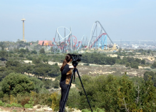The plots of land next to PortAventura theme park where BCN World will be built (by ACN)