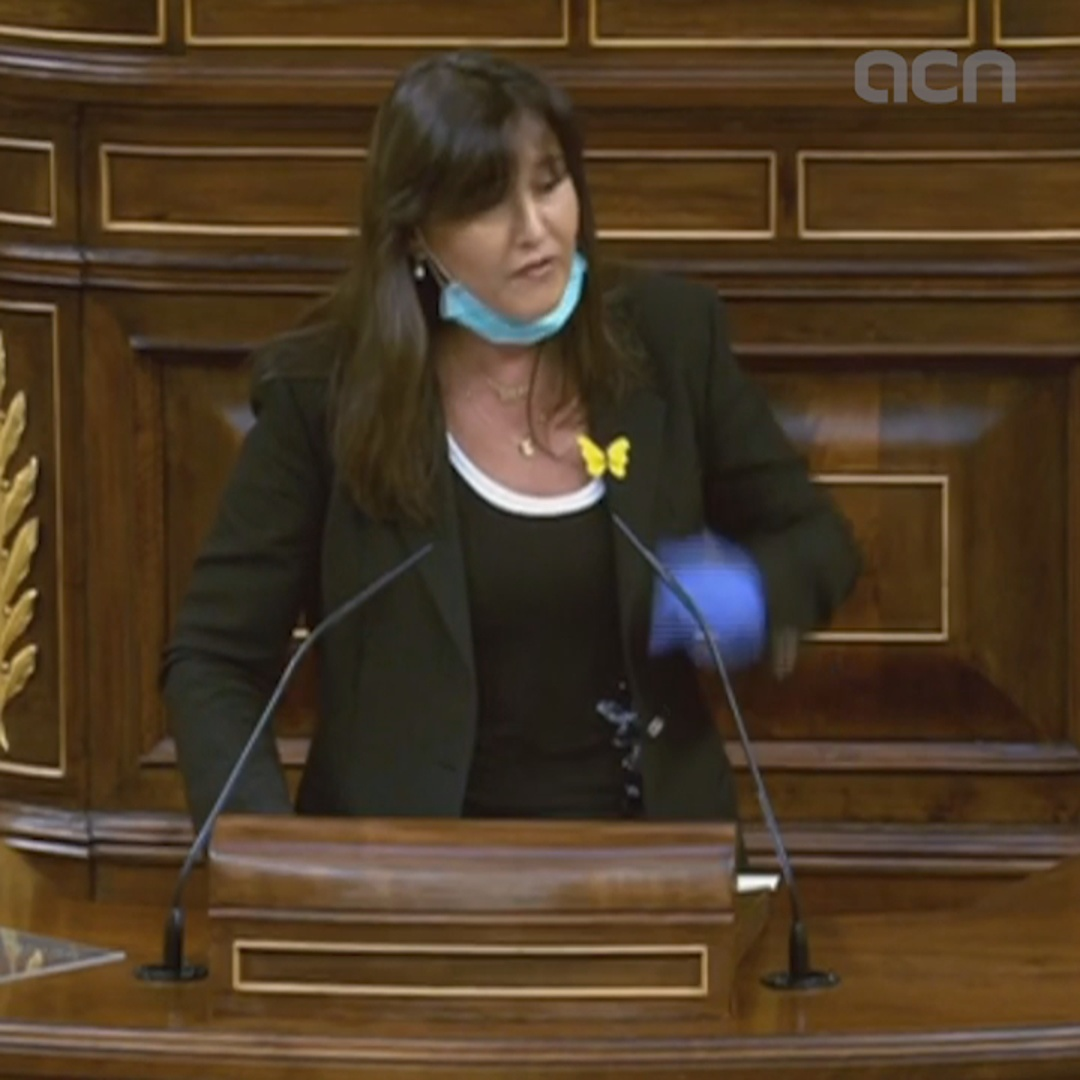 "MP Laura Borràs: ""With independence, response to Covid-19 would have been more effective"""